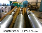 the drills lie on a rack near... | Shutterstock . vector #1193478367