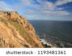 rocky outcrops in point reyes... | Shutterstock . vector #1193481361