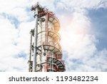 industrial zone the equipment... | Shutterstock . vector #1193482234