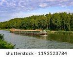 bramsche  mittelland canal ... | Shutterstock . vector #1193523784
