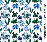 creative artistic floral...   Shutterstock . vector #1193526604