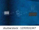 brands working with online... | Shutterstock . vector #1193531347