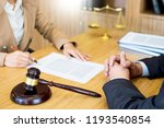 business people and lawyers... | Shutterstock . vector #1193540854