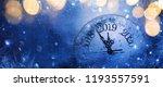 happy new years 2019. winter... | Shutterstock . vector #1193557591