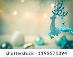 blank space and christmas... | Shutterstock . vector #1193571394
