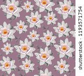 seamless vintage floral pattern ... | Shutterstock .eps vector #1193571754