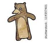 cartoon bear   Shutterstock .eps vector #119357401