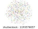 festival pattern with confetti. ... | Shutterstock .eps vector #1193578057