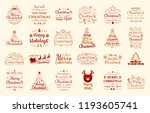concept of christmas... | Shutterstock .eps vector #1193605741