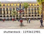 barcelona  spain   april 17 ... | Shutterstock . vector #1193611981