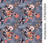 original trendy seamless...   Shutterstock . vector #1193623264