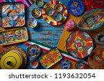 Mexican Pottery Talavera Style...