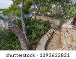signal of the gr2 long distance ... | Shutterstock . vector #1193633821