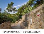 signal of the gr2 long distance ... | Shutterstock . vector #1193633824