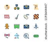 men icon set. vector set about... | Shutterstock .eps vector #1193644447