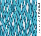 abstract wavy lines seamless... | Shutterstock . vector #1193645464