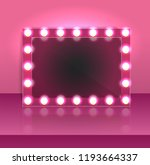 glamour pink makeup blank... | Shutterstock .eps vector #1193664337
