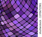 abstract vector stained glass... | Shutterstock .eps vector #1193672581