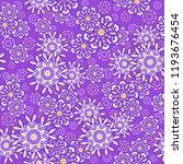 seamless oriental ornamental... | Shutterstock .eps vector #1193676454