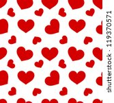 red hearts   seamless vector...