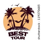best tour design template with... | Shutterstock .eps vector #119370685
