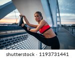 cropped shot of an attractive... | Shutterstock . vector #1193731441