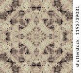 complex symmetrical seamless... | Shutterstock . vector #1193739031