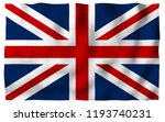 waving flag of the great... | Shutterstock . vector #1193740231