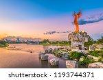 wichita  kansas   augus 31 ... | Shutterstock . vector #1193744371
