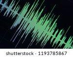 audio sound wave studio editing ... | Shutterstock . vector #1193785867