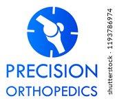 """precision orthopedics"" medical ... | Shutterstock .eps vector #1193786974"