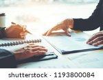 business people meeting... | Shutterstock . vector #1193800084