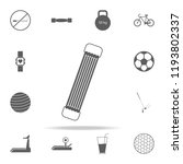 shoulder expander icon. sport... | Shutterstock .eps vector #1193802337