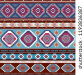 indian rug tribal ornament... | Shutterstock .eps vector #1193836387