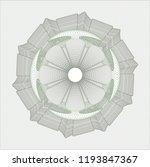 green rosette or money style...   Shutterstock .eps vector #1193847367