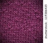 Macro Purple Of A Grey Cotton...