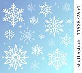 snowflake christmas design... | Shutterstock .eps vector #1193872654