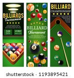 billiard championship or...   Shutterstock .eps vector #1193895421