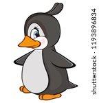 vector illustration of a cute... | Shutterstock .eps vector #1193896834