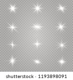white glowing light explodes on ... | Shutterstock .eps vector #1193898091
