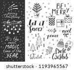 hand drawn doodle vector... | Shutterstock .eps vector #1193965567