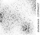 abstract halftone radial dotted ... | Shutterstock .eps vector #1193966317