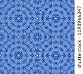 seamless oriental ornamental... | Shutterstock .eps vector #1193966347