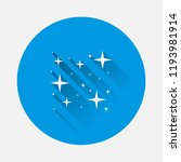 vector icon of the star  starry ... | Shutterstock .eps vector #1193981914
