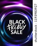 black friday sale banner design.... | Shutterstock .eps vector #1193983927