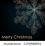 2019. christmas background with ... | Shutterstock .eps vector #1193988901