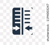 reflect vector icon isolated on ... | Shutterstock .eps vector #1194003247