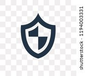 antivirus vector icon isolated... | Shutterstock .eps vector #1194003331