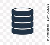 Database Vector Icon Isolated...
