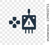 controller vector icon isolated ... | Shutterstock .eps vector #1194010711